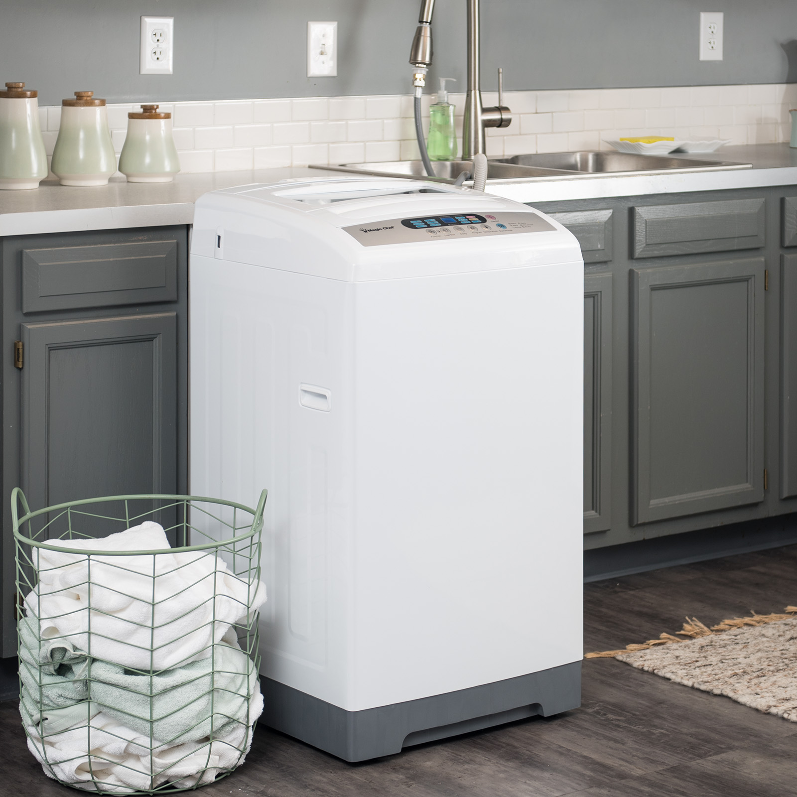 Magic Chef 1 6 cu ft Top Load Portable Washer Walmart