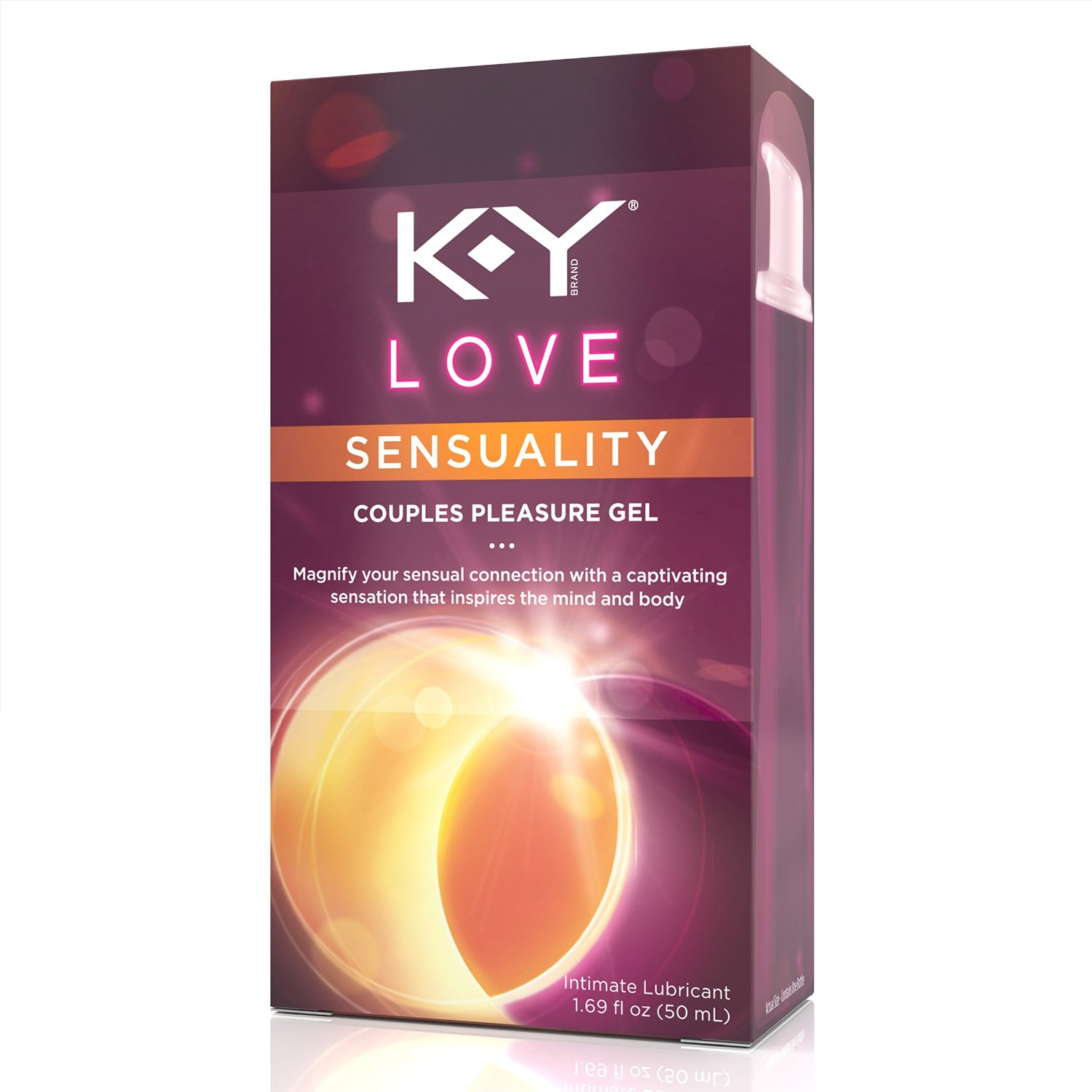 K-Y Love Couples Water Based Pleasure Gel - 1.69 oz