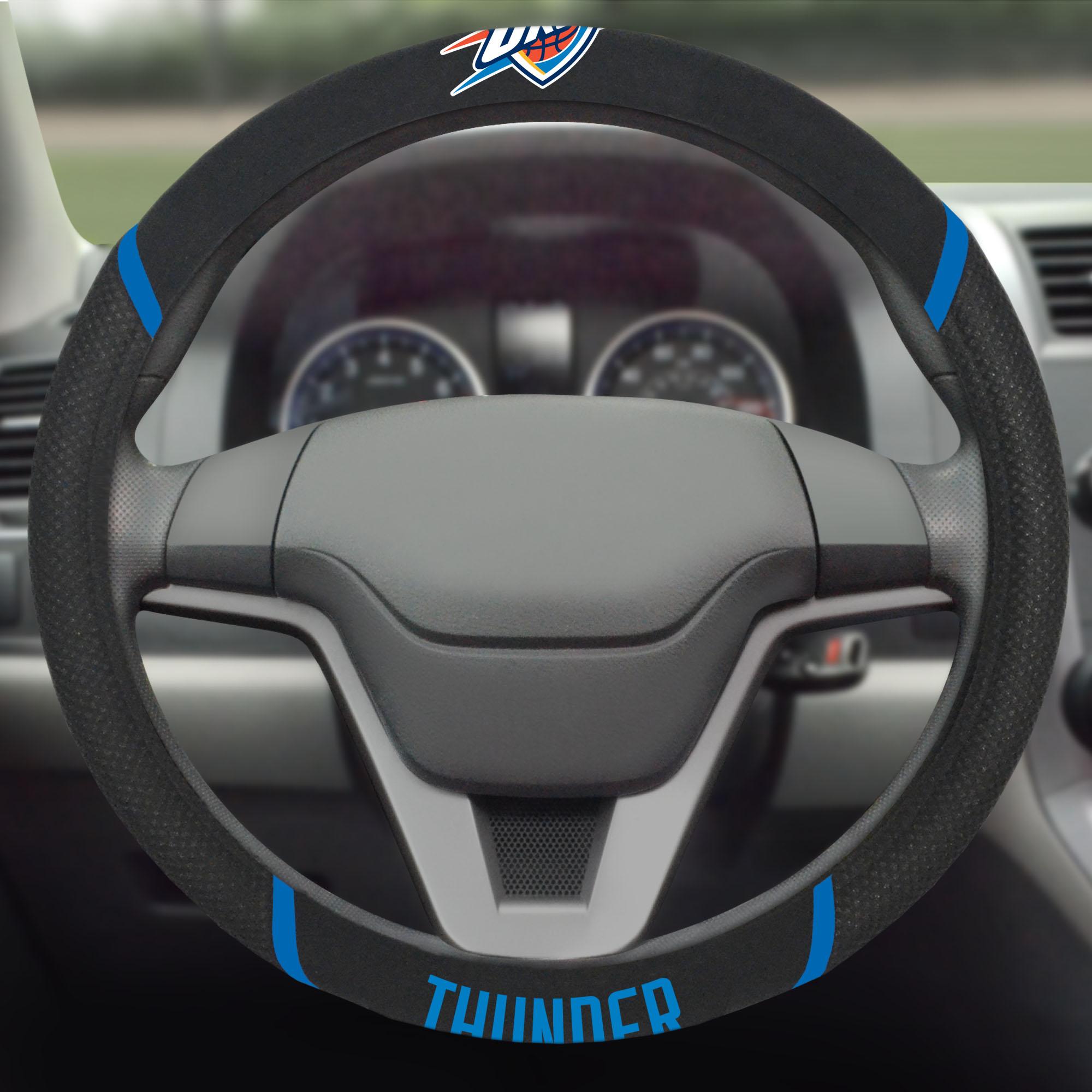 Oklahoma City Thunder Steering Wheel Cover - No Size