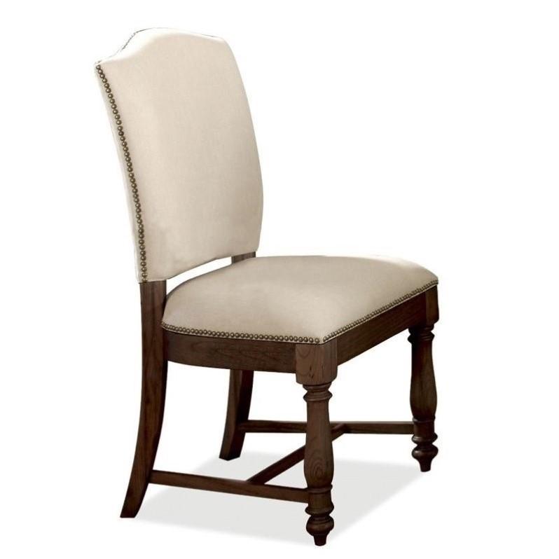 Riverside Furniture Riverside Castlewood Upholstered Dini...