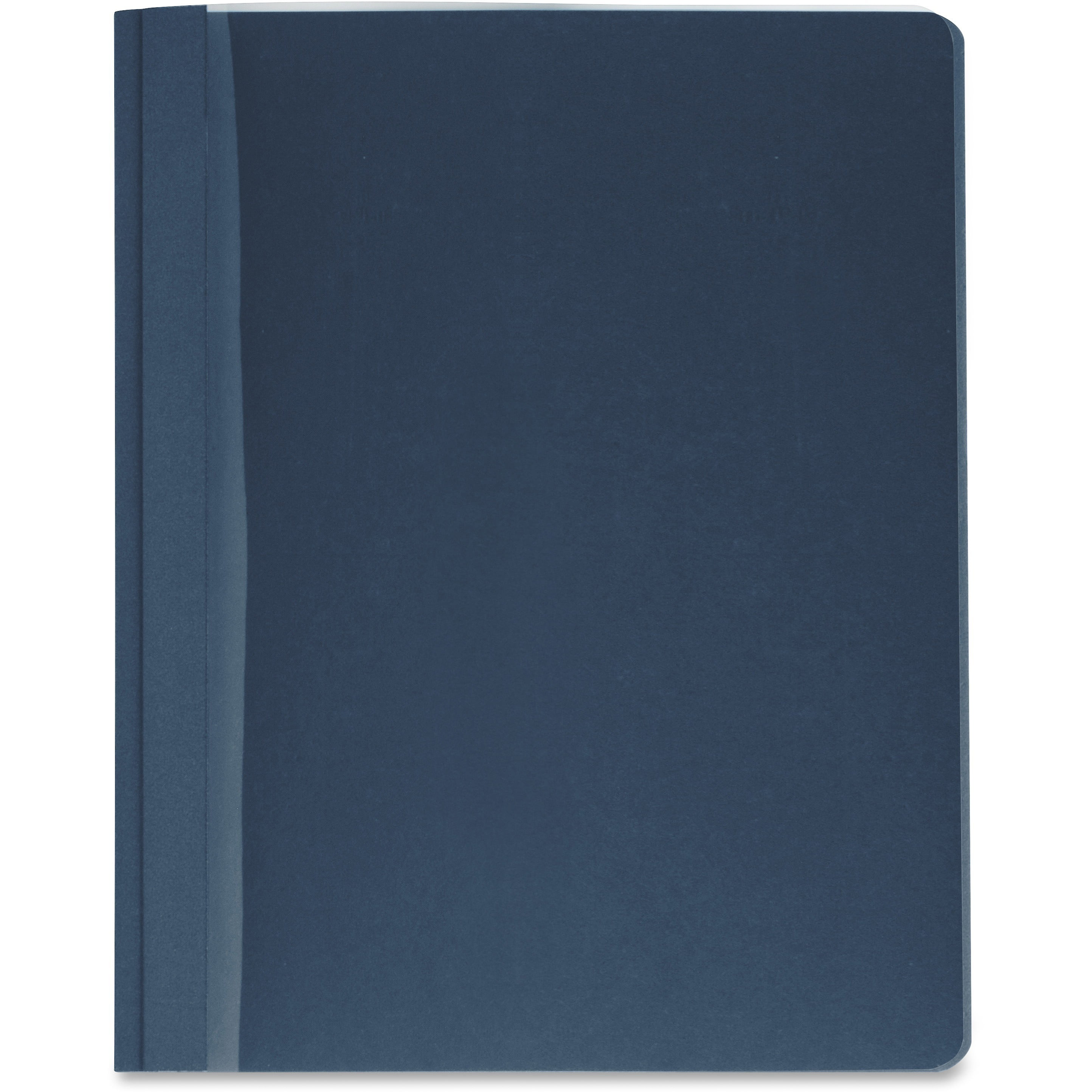 Business Source, BSN78522, Clear Front Report Covers, 25   Box, Clear,Dark Blue by Business Source