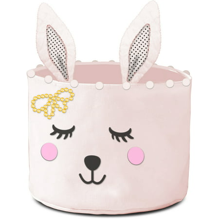 American Toddler Figural Bunny Canvas Storage Bin](Toddler Store)