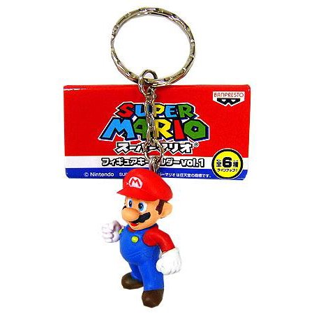 Super Atomic Fun Team PVC Volume 1 Mario - Fun Keychains