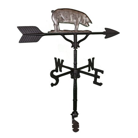 Swedish Iron Pig Weathervane - 32 - Flying Pig Weathervane
