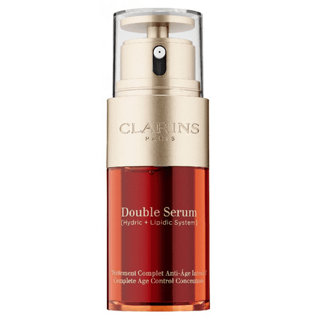 Clarins Double Serum Complete Age Control Concentrate Anti Aging Facial Serum, 1 (Clarins Double Serum Best Price)