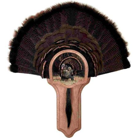 Walnut Hollow Country Deluxe Turkey Display Kit, Oak - Deluxe Oak Roll Top