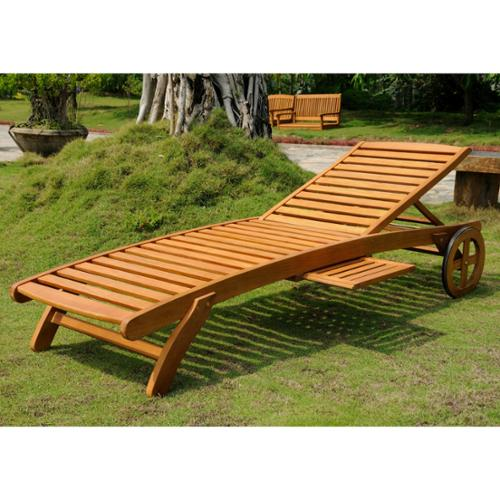 International Caravan Royal Tahiti Yellow Balau Wood ...