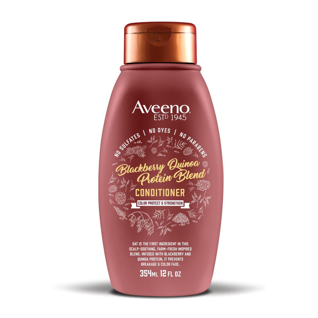 Aveeno Blackberry Quinoa Protein Blend Conditioner, 12 fl. oz