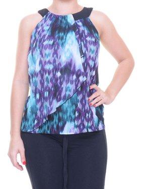 4339d129b4974 Product Image BCX Women s Sleeveless Eggplant Top Size XXS