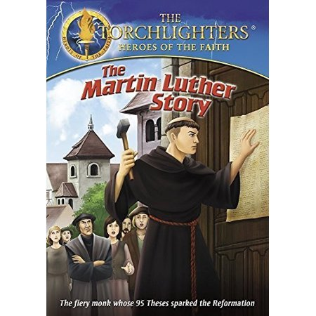 Torchlighters Martin Luther (DVD) - Halloween Martin Luther