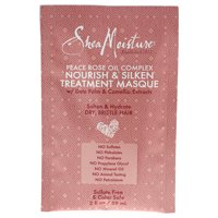SheaMoisture Peace Rose Complex Hair Masque Packette, 2 oz