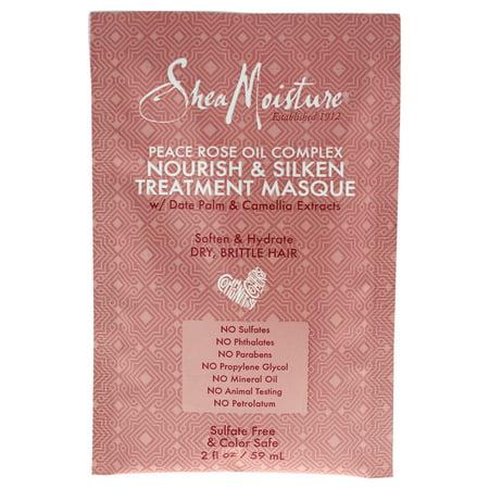 SheaMoisture Peace Rose Complex Hair Masque Packette, 2 oz