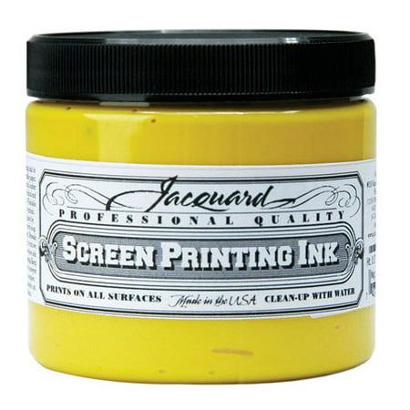 Jacquard - Professional Screen Printing Ink - 16 oz. Jar - Green