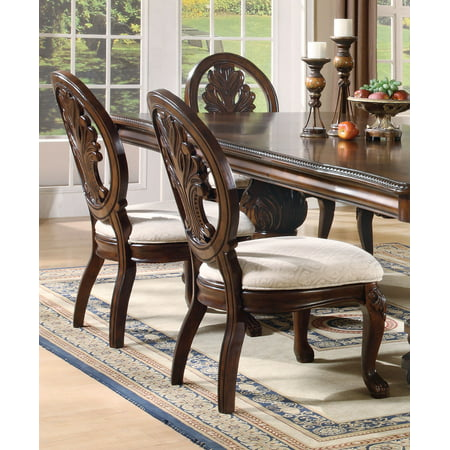 - Coaster Company Tabitha Traditional Dining Chair Set of Two, Dark Cherry