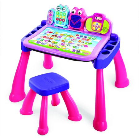 VTech Touch & Learn Activity Desk Deluxe Pink