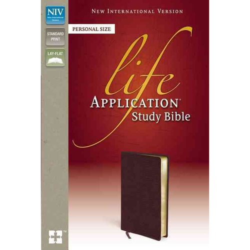 Life Application Study Bible: New International Version Burgundy Bonded Leather Personal Size