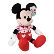 Disney Valentine Mickey Mouse Large 19-Inch Plush, Ages 2 +