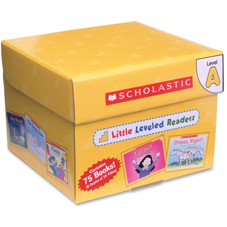 Scholastic Little Leveled Readers Level A Box Set Education Printed Book, English