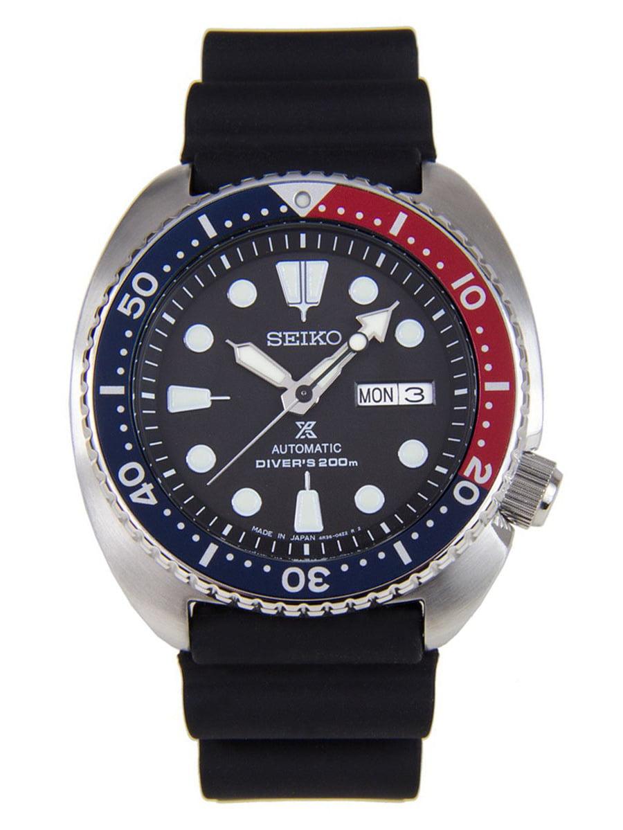 SRP779J1 Men's Prospex Turtle Black Dial Black Silicone Strap Automatic Dive Watch