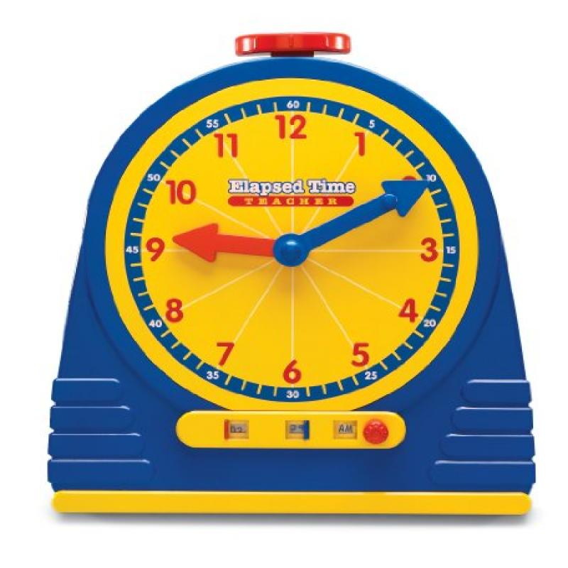 Learning Resources Elapsed Time Clock