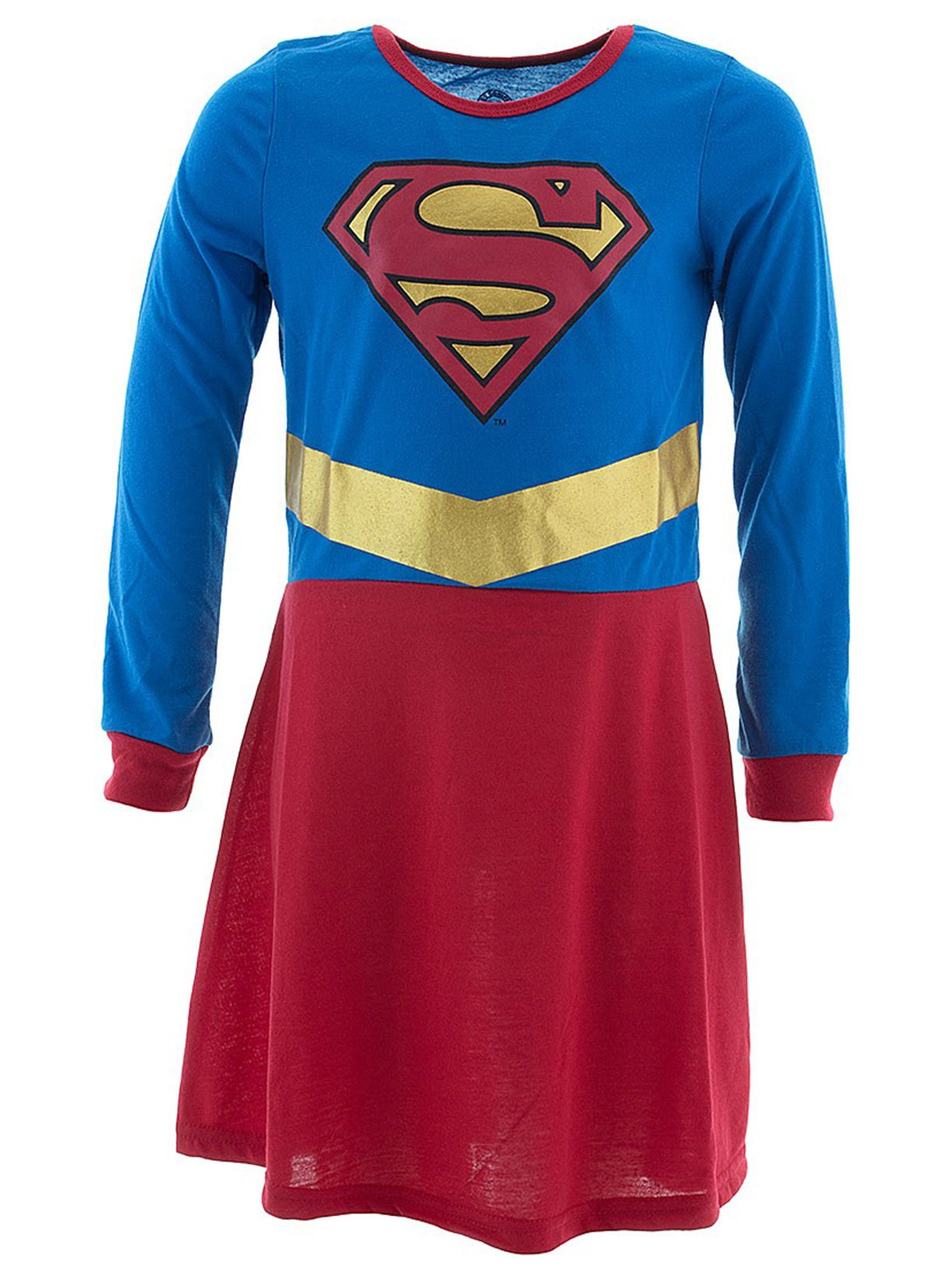 Intimo Little Girls' Supergirl Logo Nightgown