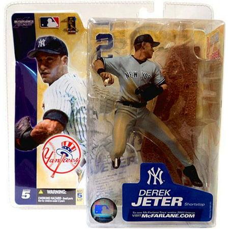 Gray Series (McFarlane MLB Sports Picks Series 5 Derek Jeter Action Figure [Gray)