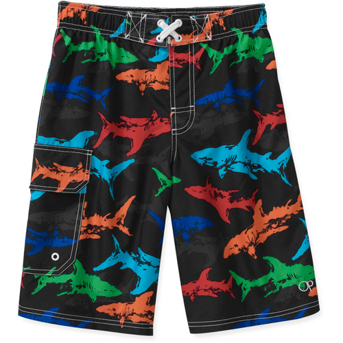 Op Boys' Shark Swim Shorts