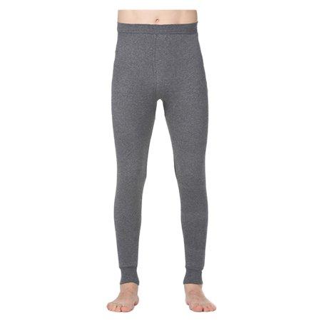 Automne hommes et coton d'hiver Slim Pantalons Sous-vêtements thermique talonnage pantalons chauds