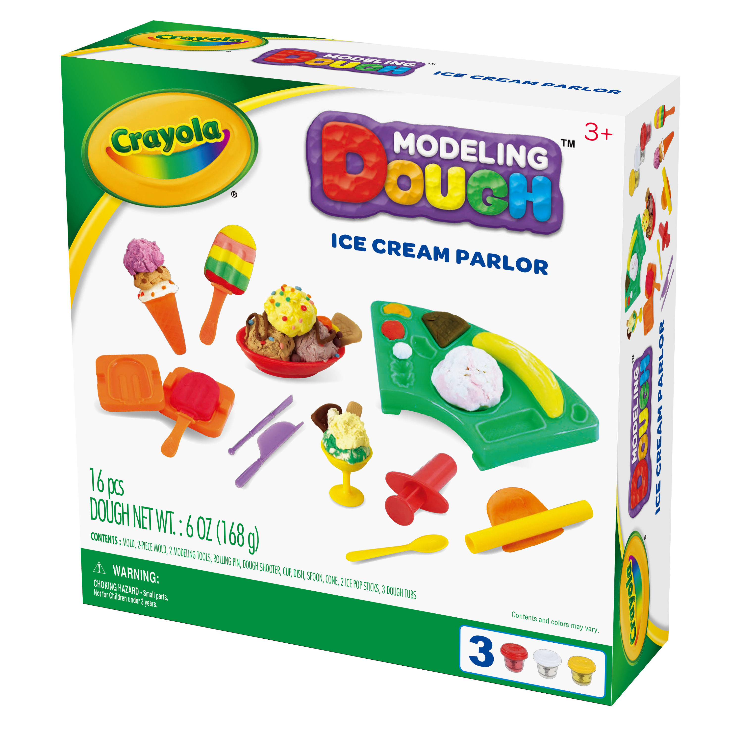 Crayola Ice Cream Parlor Modeling Dough Kit