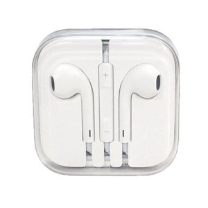 Apple Earpods OEM Original Stereo Headphones w| Inline Control - White MD827LL|A