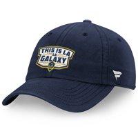 LA Galaxy Fanatics Branded Hometown Patch Fundamental Adjustable Hat - Navy - OSFA