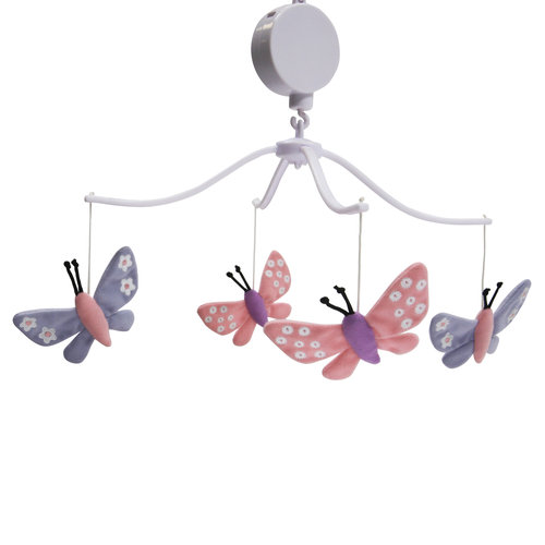 Bedtime Originals Butterfly Meadow Musical Mobile by Bedtime Originals