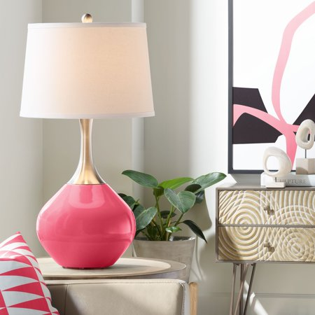 Color + Plus Eros Pink Spencer Table Lamp