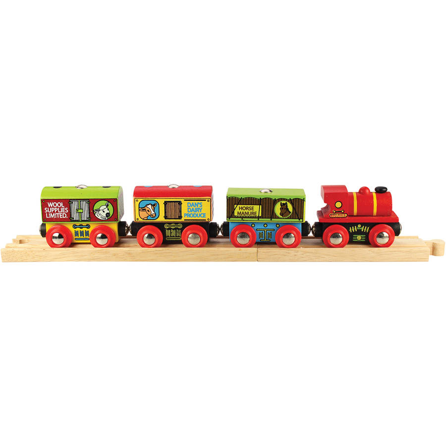 Bigjigs Toys Farm Train by BigJig Toys