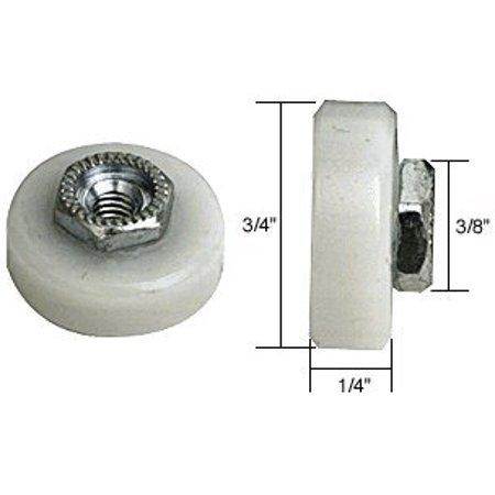 Shower Door Roller - 3/4