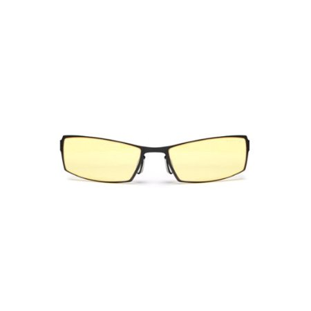 Gunnar Optiks G0005-C001 SheaDog Full Rim Ergonomic Advanced Computer Glasses with Headset Compatibility and Amber Lens Tint,