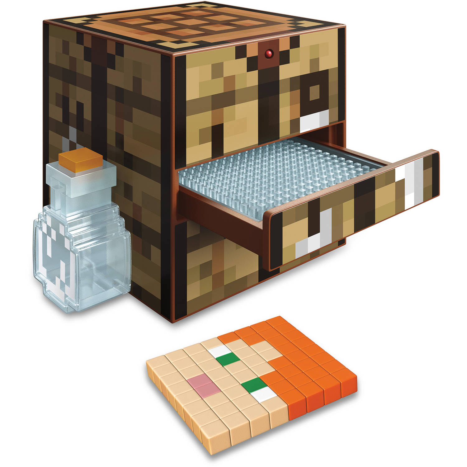 Minecraft Crafting Table With 10 Templates 1 500 Craft Cubes And