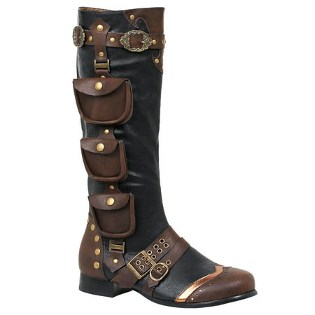 Avenue Boot (121-AMOS, 1'' Heel Knee High Mens Boots )