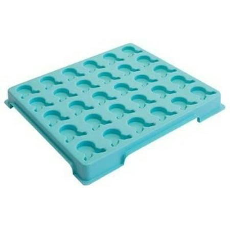 - Medicine Dispenser Tray Plastic - Item Number 3154EA - Holds 30 Glasses - 1 Each / Each