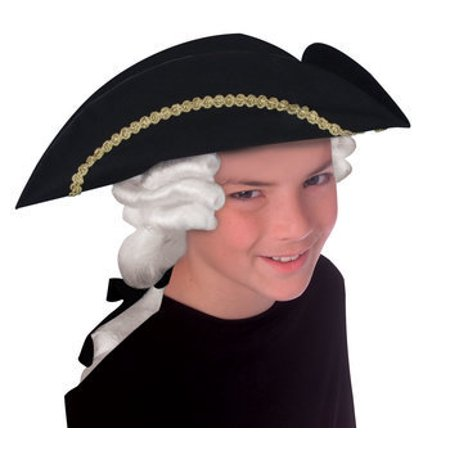 HAT-CHILD-COLONIAL WITH WIG