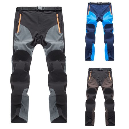 Casual Thin Mens Outdoor Sports Snowboard Pants Waterproof Hiking Trousers