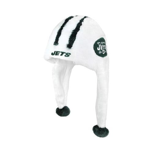 Forever Collectables NFL Current Helmet Dangle Hat, New York Jets