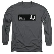 The Office Sign Logo Mens Long Sleeve Shirt