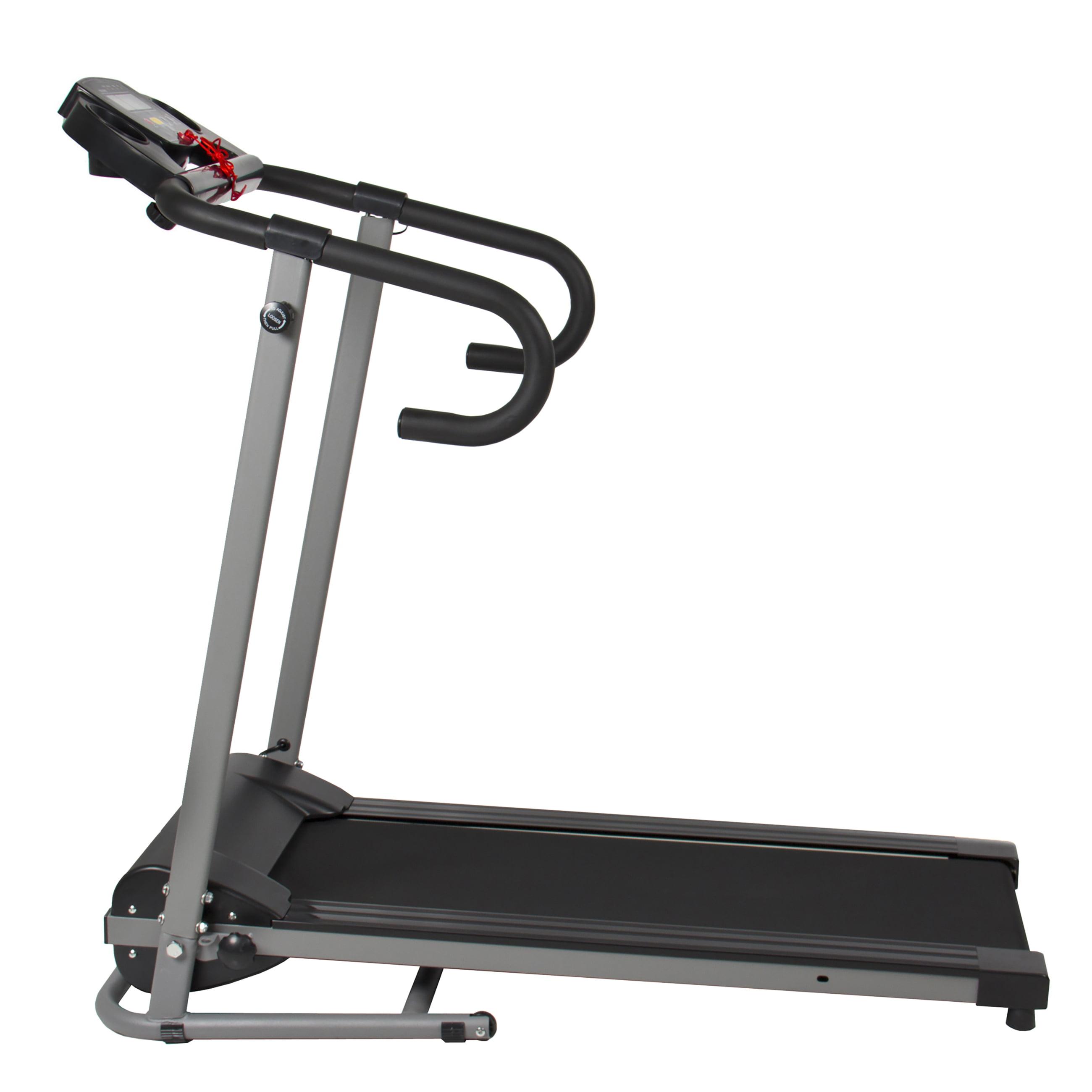 1100w Folding Electric Treadmill Portable Motorized Running Fitness