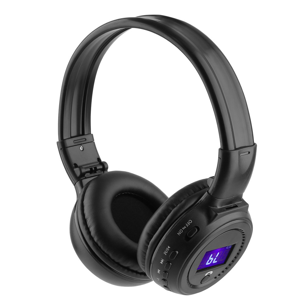 bluetoo th 4.1 Wireless Over-Ear Headphone Stereo Music Headset Voice Control Earphone For Phone tab let N65