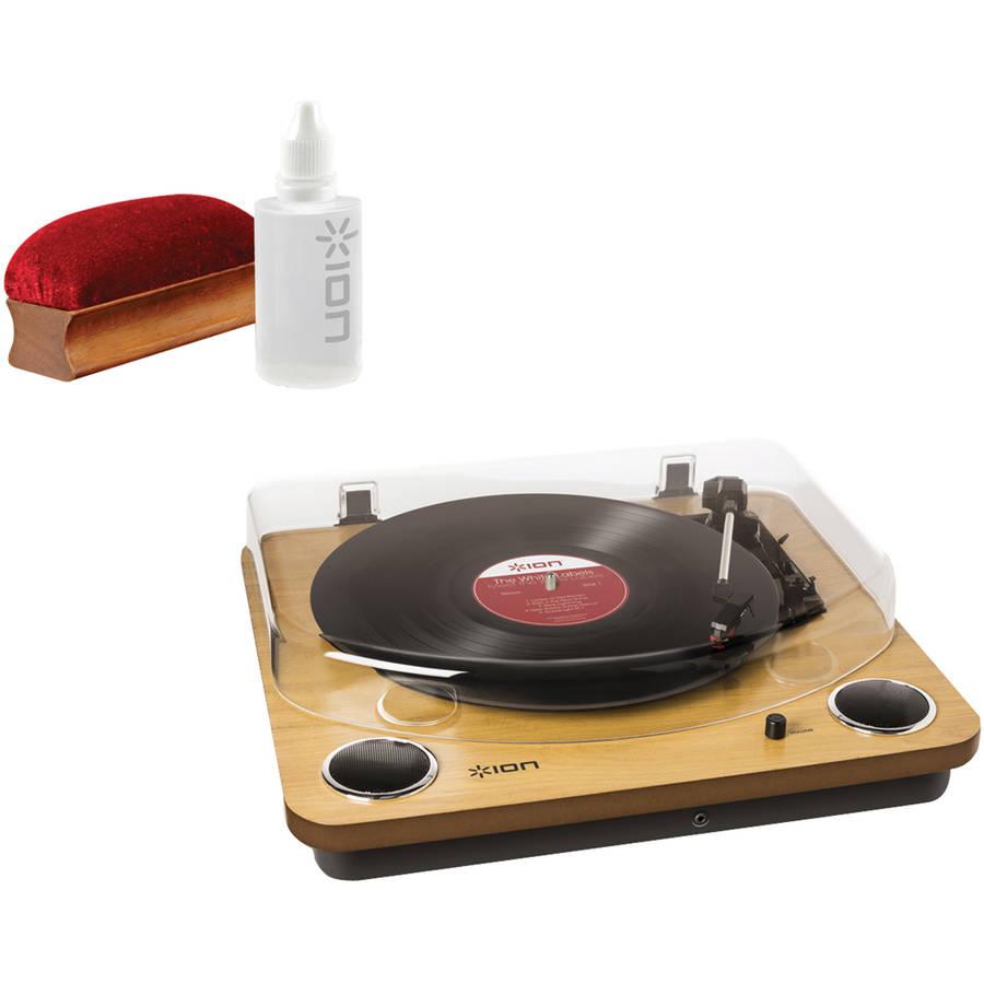 ION IT54 Max LP Turntable and ICT07 Restoration Kit