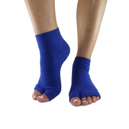 Dazzling Blue Tabi Toe-less Grip Socks (M/L) (Pajar Grip)