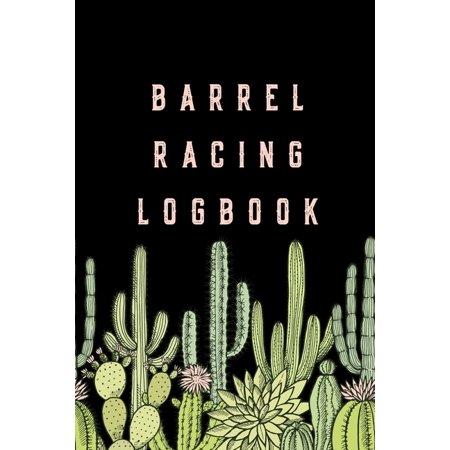 Halloween Barrel Racing (Barrel Racing Logbook: Barrel Racer Tracker - Horse Lovers Log Book - Pole Bending Diary for Rodeo)