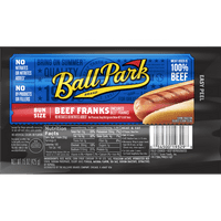 Ball Park® Beef Franks, Bunsize Length, 8 Count