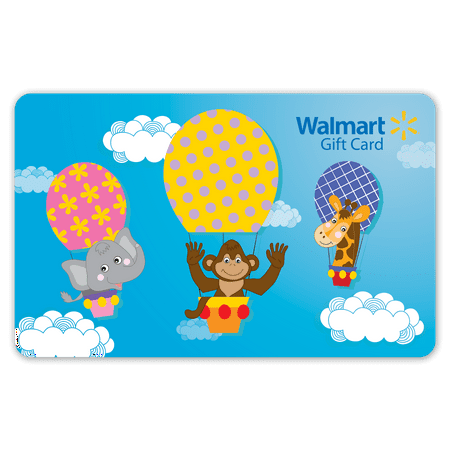 Hot Air Balloon Walmart Gift Card ()